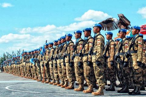 Ilustrasi - Pasukan TNI yang bertugas di Unifil - Istimewa