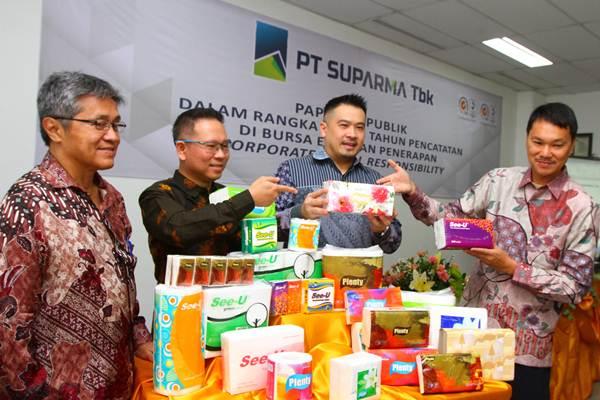 SPMA Emiten Kertas dan Tisu Suparma (SPMA) Catat Pertumbuhan Laba 24 Persen - Market Bisnis.com