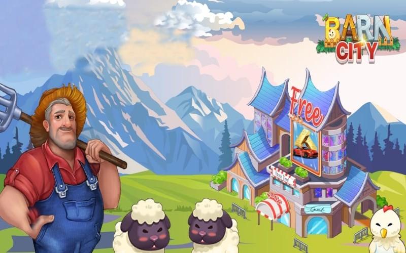 Game pertanian Barn City