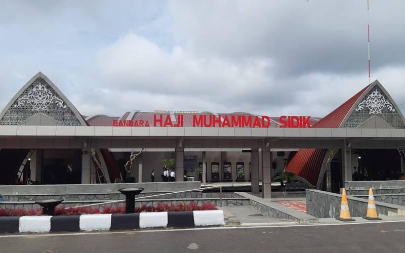 Bandara H. Muhammad Sidik di Muara Teweh, Kabupaten Barito Utara di Kalimantan Tengah. JIBI - Bisnis/Nindya Aldila