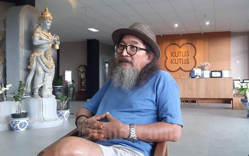 Servasius Bambang Pranoto pemilik usaha minyak Kutus-Kutus di Bali. - Istimewa