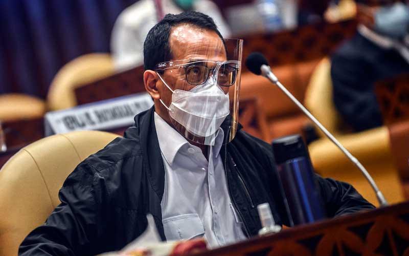 Menteri Perhubungan Budi Karya Sumadi /ANTARA FOTO - Muhammad Adimaja