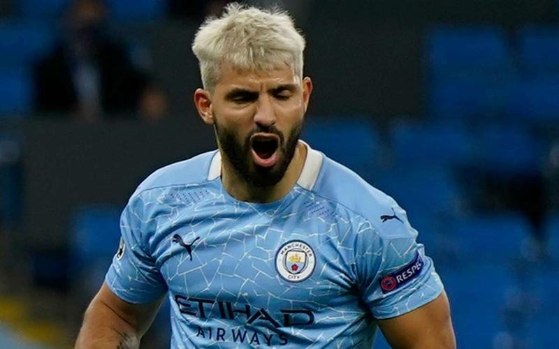 Striker Manchester City, Sergio Aguero - Goal