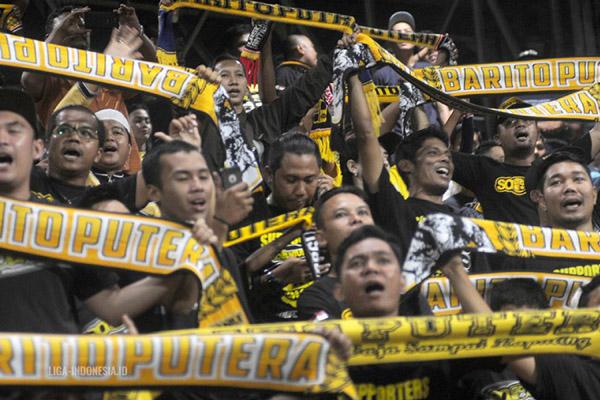 Suporter Barito Putera - Liga-Indonesia.id