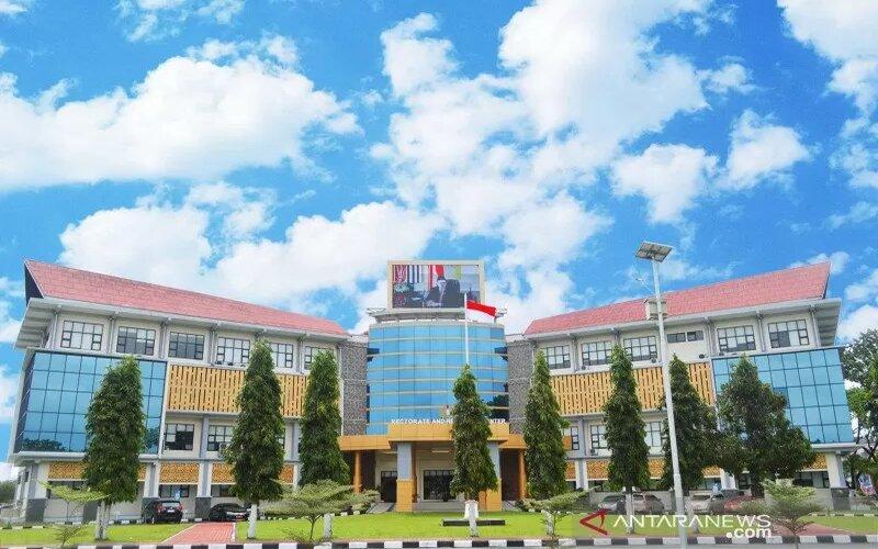Gedung Rektorat UNP di Padang, Sumatera Barat. - Antara/Dok.UNP.