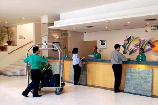 Ilustrasi lobi hotel - Antara