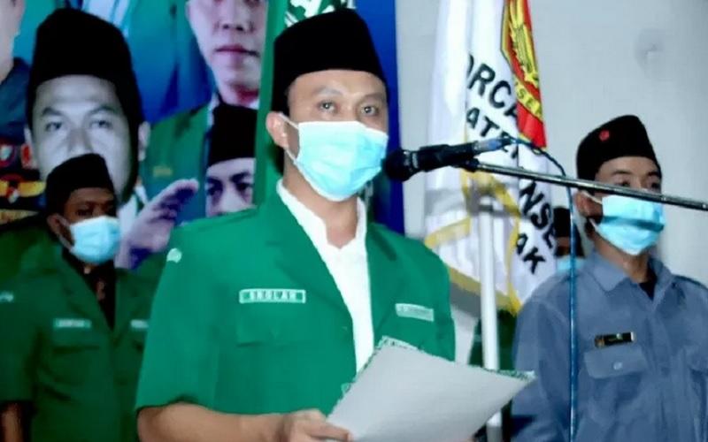 Ketua PW GP Ansor Jateng H.Sholahuddin Aly. - Antara