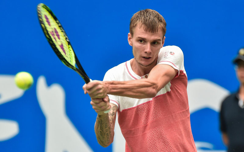 Petenis Kazakhstan Alexander Bublik. - Tennis World USA
