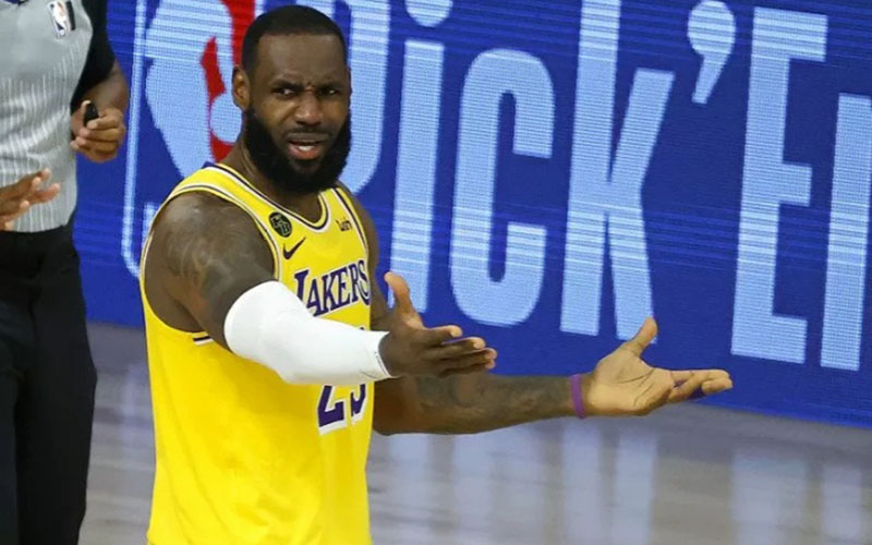 Forward Los Angeles Lakers LeBron James./Antara - Reuters