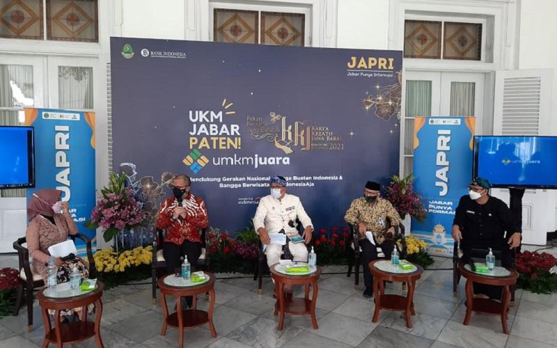 JAPRI (Jabar Punya Informasi) di Gedung Pakuan membahas Gernas BBI