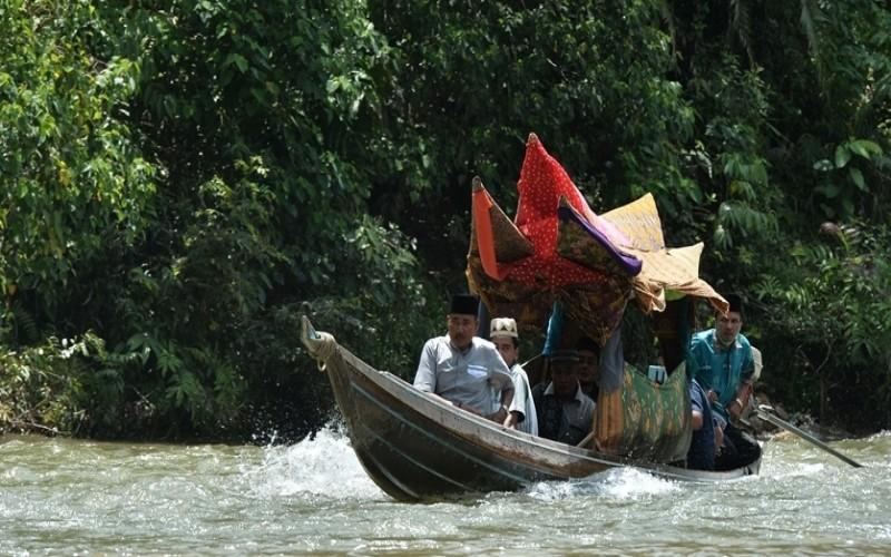 Festival Sungai Subayang di Kabupaten Kampar, Riau.  - Istimewa