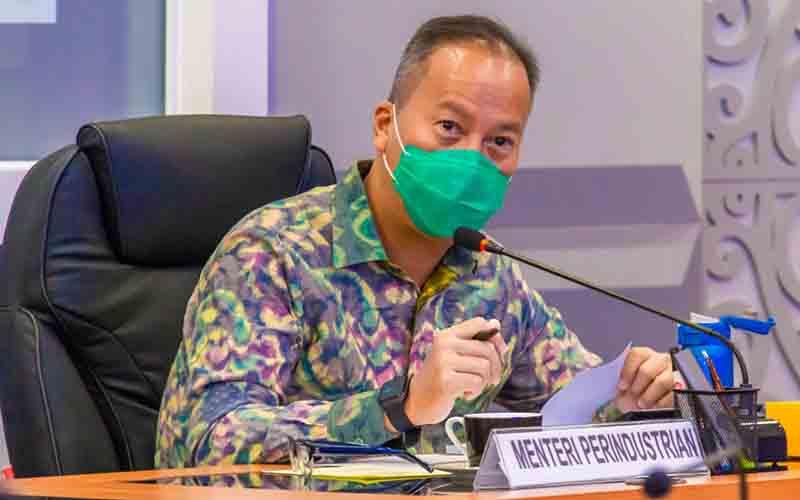 Menteri Perindustrian Agus Gumiwang Kartasasmita.  - Kementerian Perindustrian