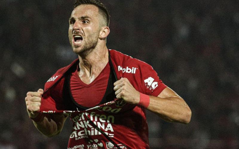Ujung tombak Bali United Ilija Spasojevic. - BaliUtd.com