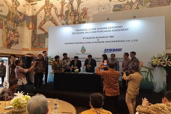 RAJA Garap Pipa Blok Rokan, RAJA Siapkan Dana Jumbo - Market Bisnis.com