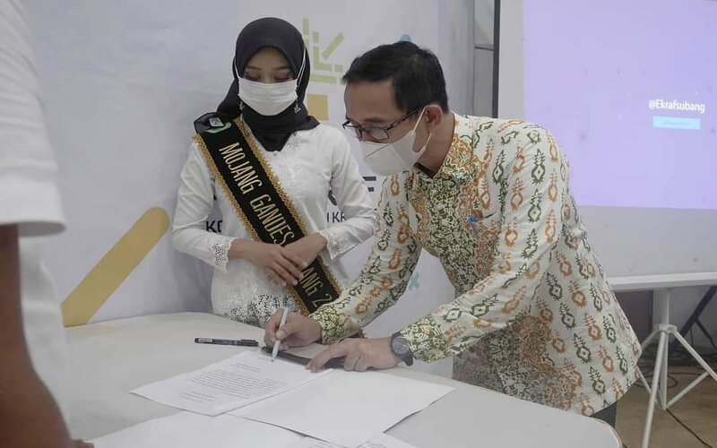Pj Sekretaris Daerah Subang, Asep Nuroni.