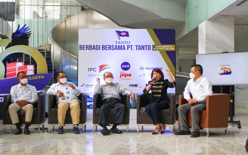 Perayaan HUT Tanto Intim Line Ke-50 / Foto : Syaharuddin Umngelo - Bisnis