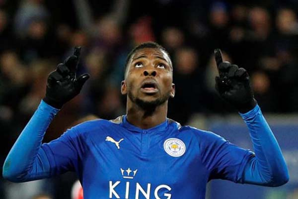Penyerang Leicester City Kelechi Iheanacho - Reuters