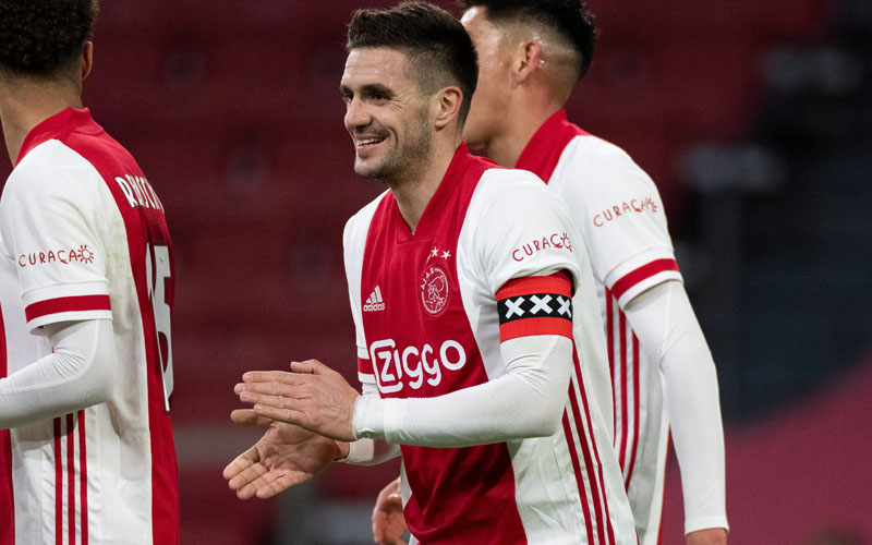 Kapten tim Ajax Amsterdam Dusan Tadic. - Twitter@AFCAjax