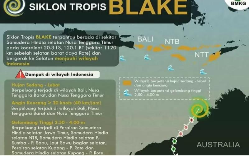 Silkon Tropis Blake.  - BMKG