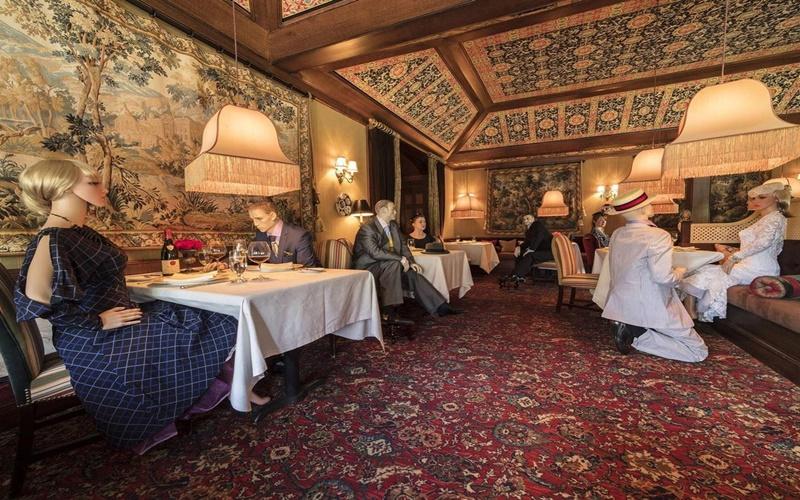 The Inn Little Washington di Virginia, AS - istimewa