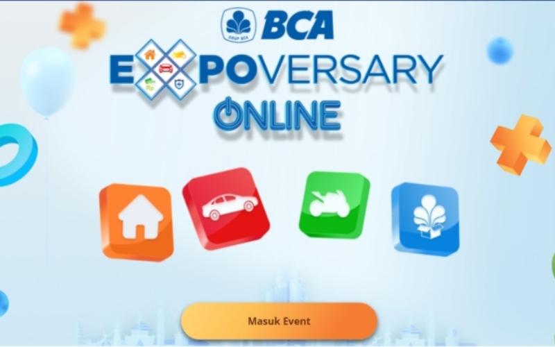 BCA Expoversary Online 2021 - Istimewa