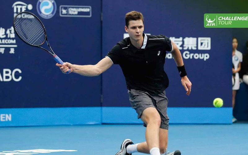 Petenis Polandia Hubert Hurkacz - ATP Tour