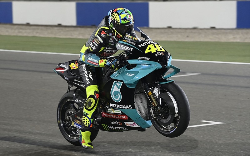 Pebalap Petronas Yamaha SRT, Valentino Rossi - Motorsport