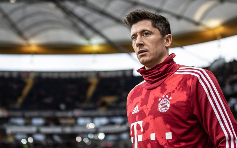 Ujung tombak Bayern Munchen Robert Lewandowski. - Bundesliga.com
