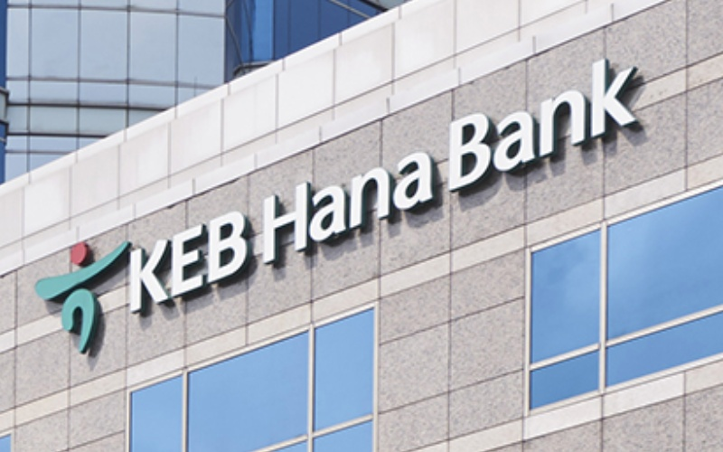 Logo Bank Hana - hanabank.co.id