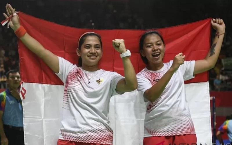 Indonesia Borong Dua Gelar di Dubai Para Badminton Internasional 2021 - Antara
