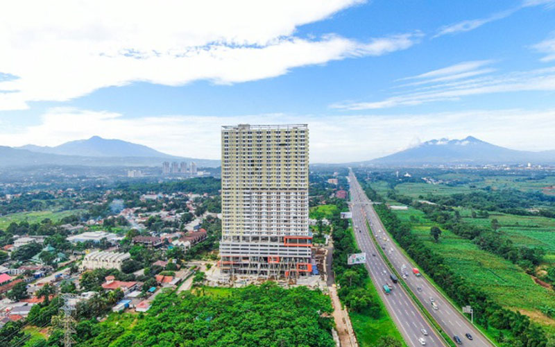 LRT City Sentul di Kabupaten Bogor, Jawa Barat. - Istimewa