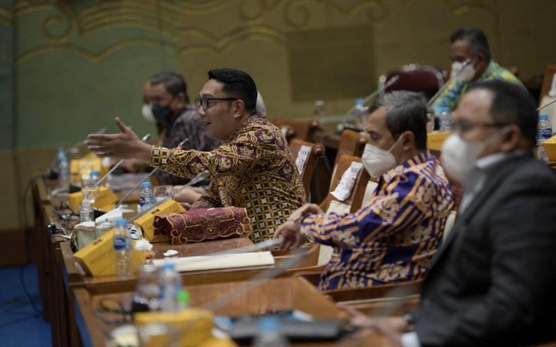Ketua Asosiasi Daerah Penghasil Migas dan Energi Terbarukan (ADPMET) sekaligus Gubernur Jawa Barat Ridwan Kamil