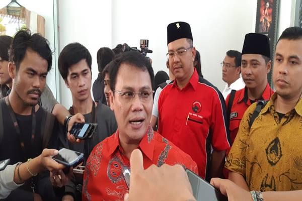 Juru Bicara Tim Kampanye Nasional (TKN) Jokowi-Ma'ruf, Ahmad Basarah./JIBI/BISNIS - Muhammad Rudwan