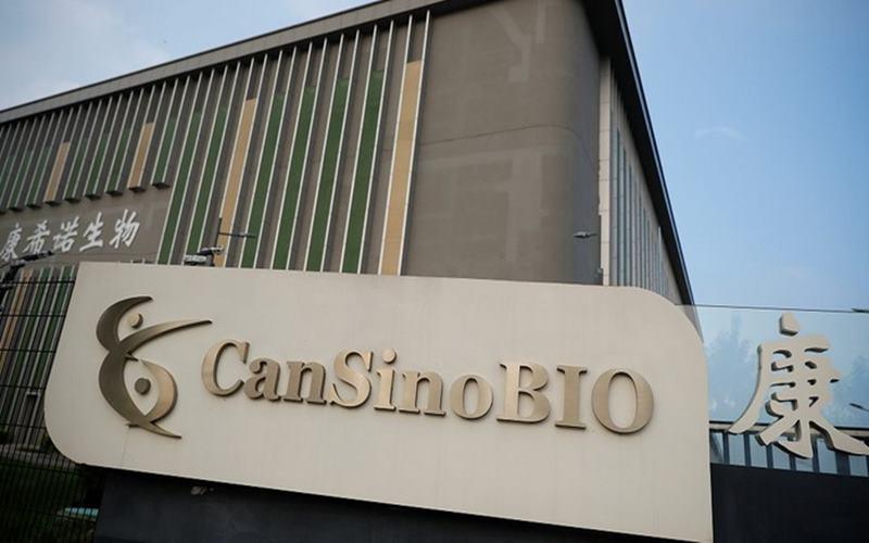 Perusahaan vaksin dari China, CanSino Bio. - Istimewa
