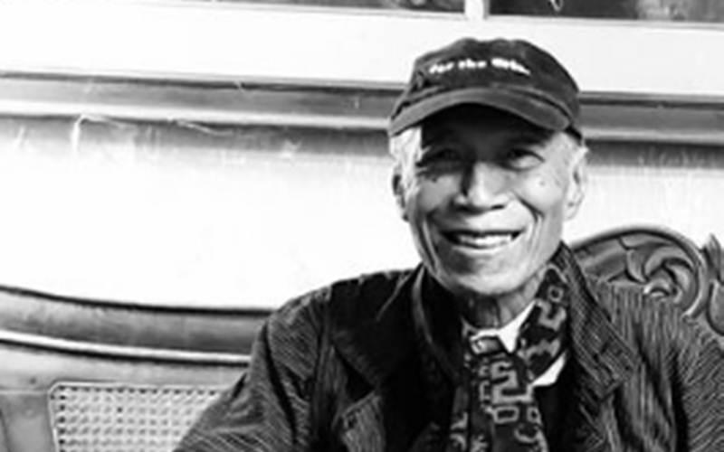 Penyair senior Umbu Landu Paranggi - Instagram/@kenduricinta
