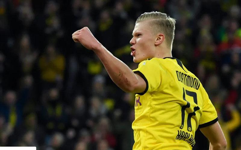 Striker Borussia Dortmund Erling Haaland - Bundesliga.com