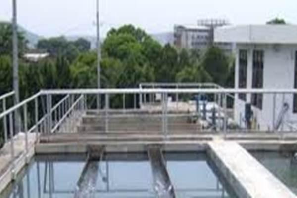 Ilustrasi instalasi pengolahan air bersih. - Istimewa