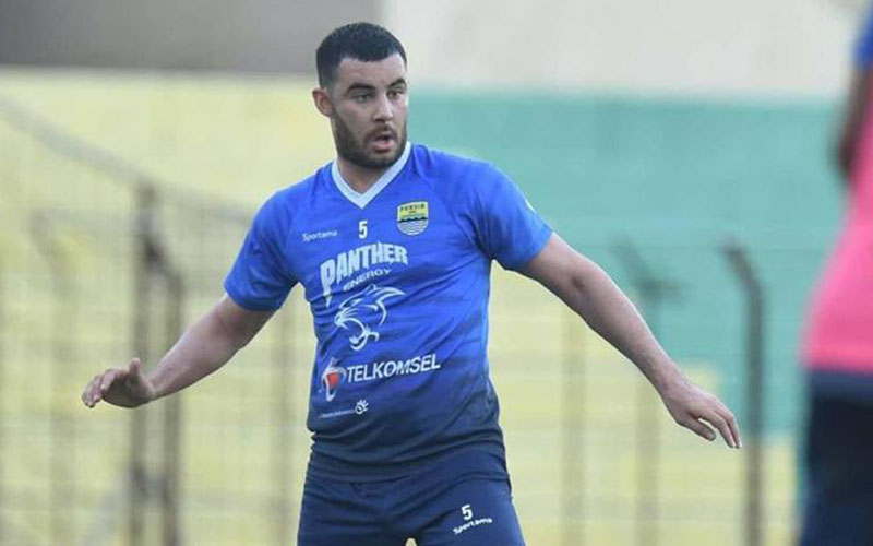 Gelandang Persib Bandung Farshad Noor - Persib.co.id