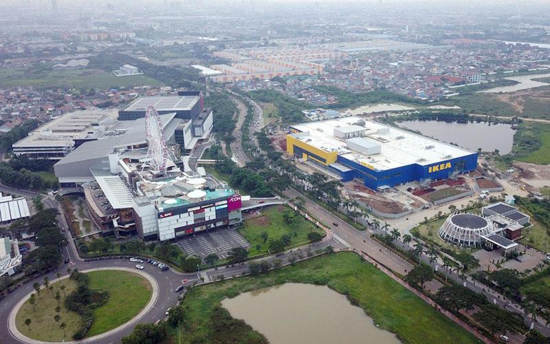 Jakarta Garden City di Jakarta Timur. - Istimewa