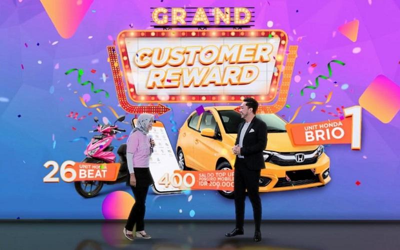 Program Customer Reward Pos Indonesia periode 12 Desember 2020 hingga 31 Maret 2021