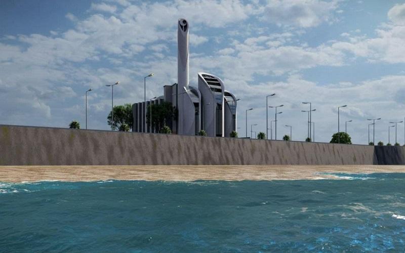 Rancangan Masjid Syaikh Ajilin - Istimewa
