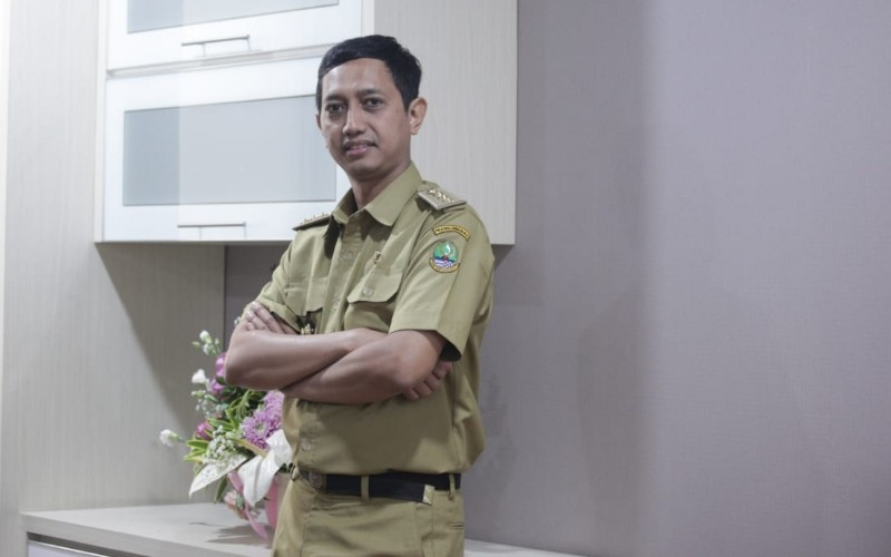 Kepala Dinas Komunikasi dan Informatika (Diskominfo) Jabar Setiaji