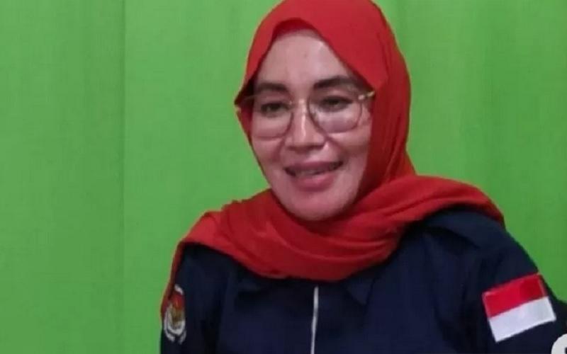 Ketua KPU Tapin Hj Henny Hendriyanti. - Antara\r\n