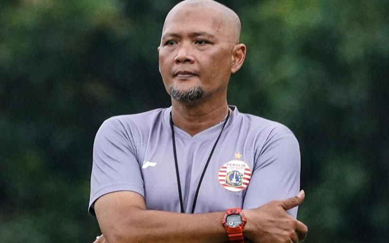 Pelatih Persija Jakarta Sudirman. - Persija.id