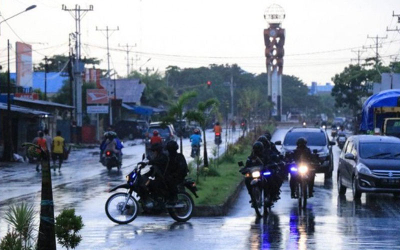 Suasana Kota Merauke, Papua. - Antara