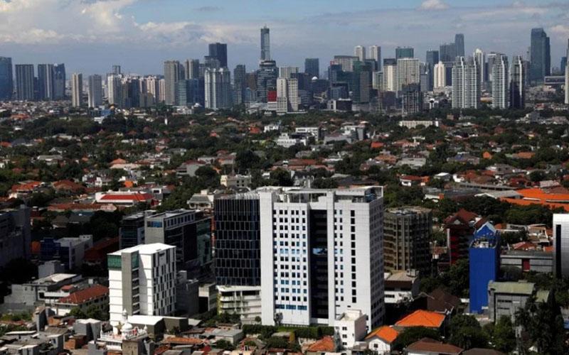 Wajah properti Jakarta. - Reuters