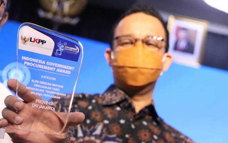 Gubernur DKI Jakarta Anies Baswedan - Twitter@DKIJakarta