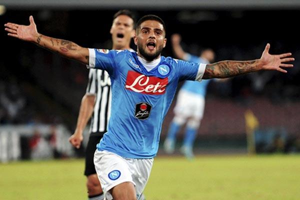 Kapten Napoli Lorenzo Insigne. - Reuters