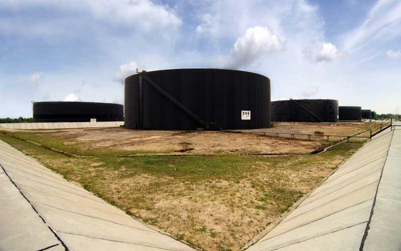 Fasilitas produksi Blok Rokan yang dikelola PT Chevron Pacific Indonesia, Minas, Riau.  - SKK Migas