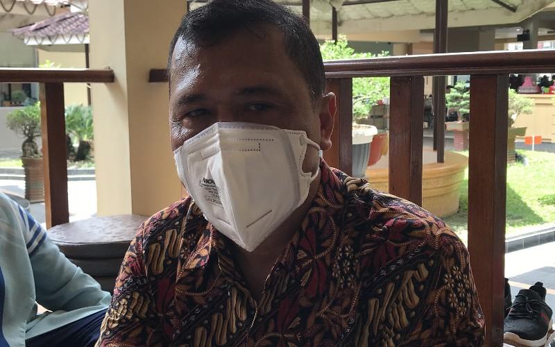 Area Head Medan PGN Saeful Hadi saat diwawancarai, Kamis (8/4 - 2021).